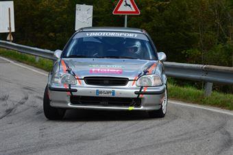 Fabio Pizzol (Vimotorsport – Honda Civic # 141), CAMPIONATO ITALIANO VELOCITÀ MONTAGNA