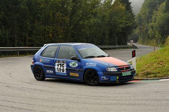 Riccardo Pomozzi (Citroen Saxo VTS 16V # 175), CAMPIONATO ITALIANO VELOCITÀ MONTAGNA