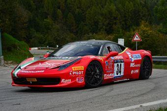 Roberto Ragazzi (Superchallenge – Ferrari 458 Challenge # 34), CAMPIONATO ITALIANO VELOCITÀ MONTAGNA
