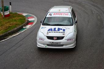 Cristian Ronchi (Red White – Honda Civic # 116), CAMPIONATO ITALIANO VELOCITÀ MONTAGNA
