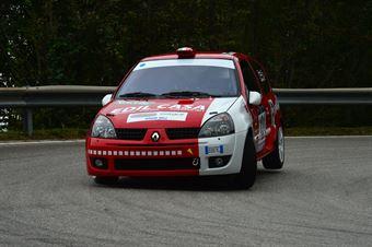 Stefano Saioni (BL Racing – Renault Clio RS # 121), CAMPIONATO ITALIANO VELOCITÀ MONTAGNA