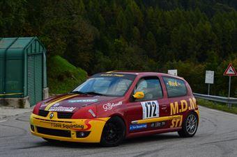 Luca Silvi (Prealpi – Renault Clio RS # 172), CAMPIONATO ITALIANO VELOCITÀ MONTAGNA