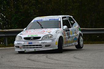 Matteo Slongo (BL Racing – Citroen Saxo VTS 16V # 104), CAMPIONATO ITALIANO VELOCITÀ MONTAGNA