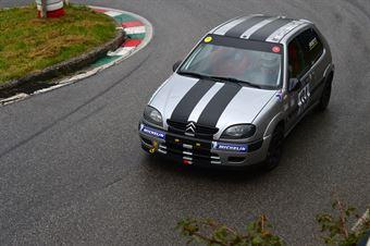 Emanuele Sposetti (BL Racing – Citroen Saxo VTS 16V # 134), CAMPIONATO ITALIANO VELOCITÀ MONTAGNA