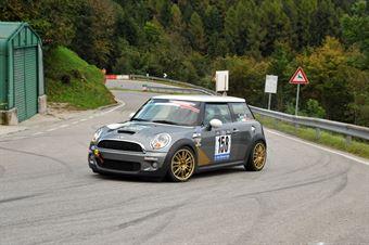 Mario Tacchini (Mini Cooper S Turbo # 158), CAMPIONATO ITALIANO VELOCITÀ MONTAGNA