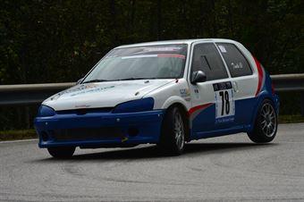 Domenico Tinella (Peugeot 106 # 78), CAMPIONATO ITALIANO VELOCITÀ MONTAGNA