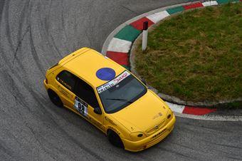 Massimo Tirabassi (Citroen Saxo VTS 16v # 98), CAMPIONATO ITALIANO VELOCITÀ MONTAGNA