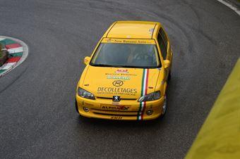 Fabrizio Vettorel (BL Racing – Peugeot 106 Rally # 132), CAMPIONATO ITALIANO VELOCITÀ MONTAGNA