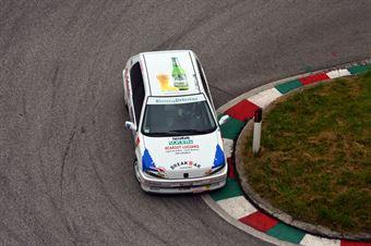 Alessandro Vettorel (VBL Racing – Peugeot 106 Rally # 154), CAMPIONATO ITALIANO VELOCITÀ MONTAGNA