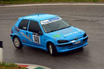 Alen Zago (Rally Team – Peugeot 106 # 148), CAMPIONATO ITALIANO VELOCITÀ MONTAGNA