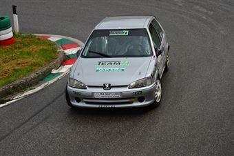 Gianluca Zampieri (BL Racing – Peugeot 106 Rally # 101), CAMPIONATO ITALIANO VELOCITÀ MONTAGNA