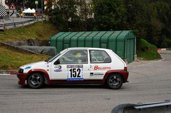 Marco Zanandrea (Peugeot 106 Rally # 152), CAMPIONATO ITALIANO VELOCITÀ MONTAGNA