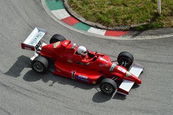 Enrico Zandonà (Funny Team – Reynard 883 # 7), CAMPIONATO ITALIANO VELOCITÀ MONTAGNA