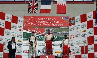 Gara 1 podio Trofeo, Brandon Maisano (Prema Powerteam Srl,Tatuus F.4 T014 Abarth #81),Sennan Fielding (Euronova Racing by Fortec Italia Motorsport, Tatuus F.4 T014 Abarth #85), Ali Al Khalifa (Jenzer Motorsport,Tatuus F.4 T014 Abarth #86), , ITALIAN F.4 CHAMPIONSHIP POWERED BY ABARTH