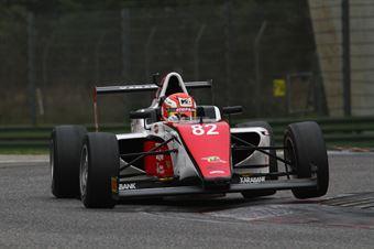 Keith Camilleri (Malta Formula Racing,Tatuus F.4 T014 Abarth #82), ITALIAN F.4 CHAMPIONSHIP POWERED BY ABARTH