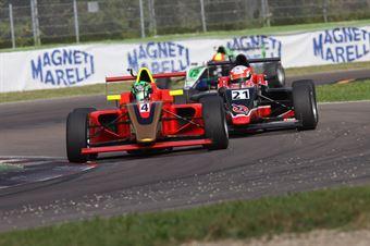 Mattia Drudi (F&M srl,Tatuus F.4 T014 Abarth #21), Leonardo Pulcini ( DAV Racing,Tatuus F.4 T014 Abarth #4), ITALIAN F.4 CHAMPIONSHIP POWERED BY ABARTH