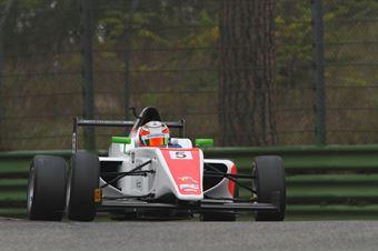 Shinji Sawada (Euronova Racing by Fortec It Motorsport, Tatuus F.4 T014 Abarth #5), ITALIAN F.4 CHAMPIONSHIP POWERED BY ABARTH