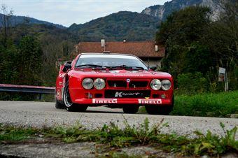 Paolo Baggio Flavio Zanella (Lancia Rally 037 # 11), CAMPIONATO ITALIANO RALLY AUTO STORICHE