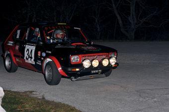 Nicola Benetton Davide Benetton (Team Bassano –Fiat 127 Sport # 34), CAMPIONATO ITALIANO RALLY AUTO STORICHE
