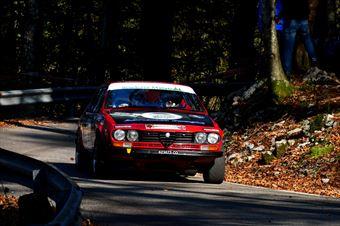 Riccardo Bucci Barbara Neri (Scuderia Malatesta – Alfa Romeo Alfetta GTV # 18), CAMPIONATO ITALIANO RALLY AUTO STORICHE
