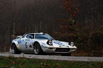 Luigi Costenaro Sergio Marchi (Team Bassano – Lancia Stratos HF # 5), CAMPIONATO ITALIANO RALLY AUTO STORICHE