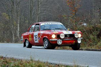 Paolo dal Corso MattiFranchin (Squadra Corse Isola Vicentina – Opel Ascona # 26), CAMPIONATO ITALIANO RALLY AUTO STORICHE