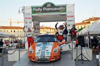 Nicholas Montini e Romano Belfiore, CAMPIONATO ITALIANO RALLY AUTO STORICHE