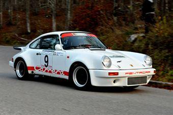 Maurizio Elia Luisa Zumelli (Rododendri Historic Rally – Porsche Carrera RS # 9), CAMPIONATO ITALIANO RALLY AUTO STORICHE