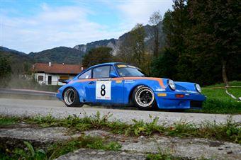 Domenico Guagliardo Francesco Granata (Island Motorsport – porsche 911 RS # 8), CAMPIONATO ITALIANO RALLY AUTO STORICHE
