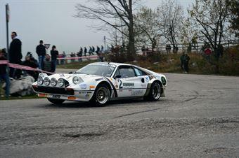 Lucky Luigi Cazzaro (Scuderia Palladio – Ferrari 308 TB # 2), CAMPIONATO ITALIANO RALLY AUTO STORICHE