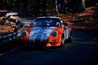 Nicholas Montini Romano Belfiore (Team bassano – Porsche 911 RS # 1), CAMPIONATO ITALIANO RALLY AUTO STORICHE