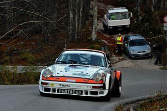 Roberto  Montini Erika Zoanni (Team Bassano – Porsche 911 SC # 4), CAMPIONATO ITALIANO RALLY AUTO STORICHE