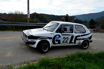 Tiziano Nerobutto Francesca erobutto (Team Bassano – Volkswagen Golf GTI # 22), CAMPIONATO ITALIANO RALLY AUTO STORICHE