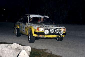 Paolo Nodari Giulio Nodari (Squadra Corse Isola Vicentina – Opel Ascona # 21), CAMPIONATO ITALIANO RALLY AUTO STORICHE