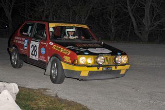 Nicola Randon Enrico Gaspari (Team Bassano – Fiat Ritmo 130 Abarth # 28), CAMPIONATO ITALIANO RALLY AUTO STORICHE