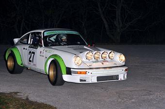 Giovanni Girelli Giorgio Reffo (Andrea Team Corse –Porsche 911 Carrera # 27), CAMPIONATO ITALIANO RALLY AUTO STORICHE