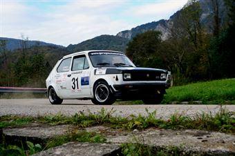 Daniele Ruggeri Martina Marzi (Road Runner Team – Fiat 127 Sport # 31), CAMPIONATO ITALIANO RALLY AUTO STORICHE