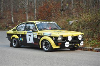 Tiziano Savioli Paolo Borgato (Squadra Corse Isola Vicentina – Opel Kadett GTE # 7), CAMPIONATO ITALIANO RALLY AUTO STORICHE