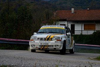 Damiano Zandonà Tania Halanes Bertasini (Team Bassano – Renault 5 GT Turbo # 30), CAMPIONATO ITALIANO RALLY AUTO STORICHE