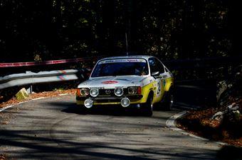 Pierluigi Zanetti Camilla Sgorbati (Squadra Corse Isola Vicentina – Opel Kadetti GTE # 24), CAMPIONATO ITALIANO RALLY AUTO STORICHE