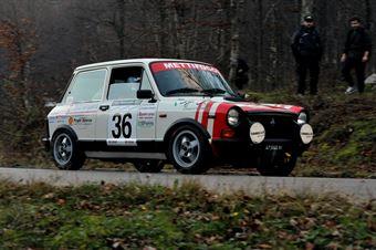 Antonio Francesco Zannier Mattia Toffoli (Squadra Corse Isola Vicentina – Autobianchi A 112 Abarth # 36), CAMPIONATO ITALIANO RALLY AUTO STORICHE