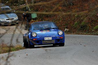Claudio Zanon.Maurizio Crivellaro (Team Bassano – Porsche 911 Carrera RSR # 16), CAMPIONATO ITALIANO RALLY AUTO STORICHE