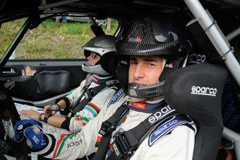 Stefano Albertini, Silvia Mazzetti (Peugeot 208 R2B, #33 Racing Lion SRL);, CAMPIONATO ITALIANO RALLY
