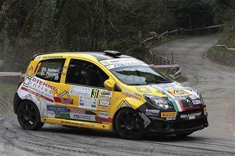 Luca Panzani, Sara Baldacci (Renault Twingo R2 #31, Pistoia Corse Sport), CAMPIONATO ITALIANO RALLY
