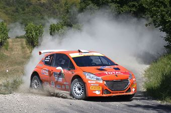 Paolo Andreucci, Anna Andreussi (Peugeot 208 T16 R5 #1), CAMPIONATO ITALIANO RALLY