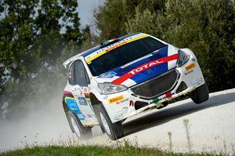 Paolo Andreucci, Anna Andreussi (Peugeot 208 T16, #2);, CAMPIONATO ITALIANO RALLY