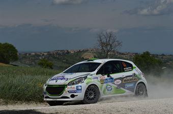 Nicolo Marchioro, Marco Marchetti (Peugeot 208 #44, Sc Power Car Team Srl), CAMPIONATO ITALIANO RALLY