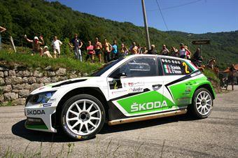 Umberto Scandola, Guido Damore (Skoda Fabia R5 #2, Car Racing), CAMPIONATO ITALIANO RALLY