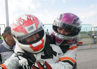 Valentina Albanese (Seat Motorsport Italia,Seat Leon Racer TCR #101), Jordi Gen? Guerrero(Seat Motorsport Italia,Seat Leon Racer TCR #103) , TCR ITALY TOURING CAR CHAMPIONSHIP