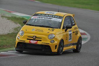Moccia Facchinetti (Abarth & C.,Abarth 695 Evo #295) , TCR ITALY TOURING CAR CHAMPIONSHIP
